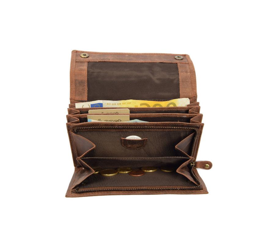 Wallet - Wallet ladies - Wallet men - Wallet cards - RFID Protected Anti skim - Horeca Wallet Leather - household wallet - Large Waiter Fair - Merchant Fair - buffalo leather - HORECA WALLET - Wallet cards