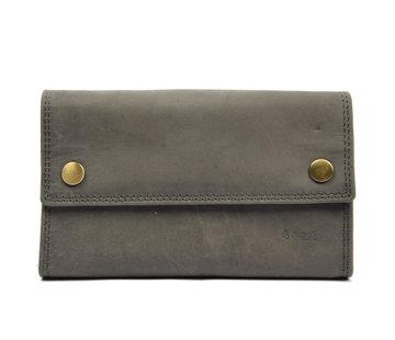 4East Wallet - Wallet ladies - Wallet men - Wallet cards - RFID Protected Anti skim - Horeca Wallet Leather - household wallet - Large Waiter Fair - Merchant Fair - buffalo leather - HORECA WALLET - Wallet cards