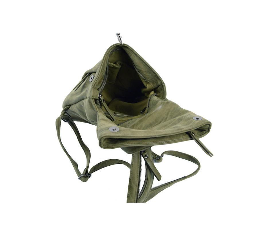 Bicky Bernard Backpack 8 Liter - Shoulder bag - Crossbody bag - bags - bags ladies - buy bags - bag handle - bags - Ladies bag - handbag - handbags - handbag ladies - handbags ladies - handbag Olive - olive