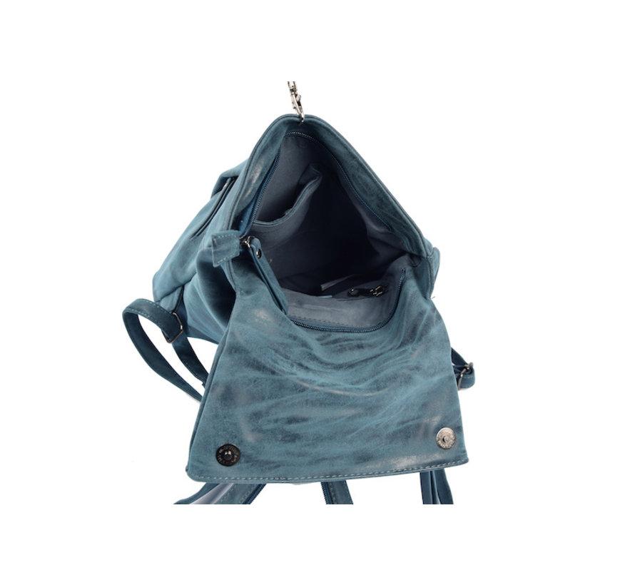 Bicky Bernard Backpack 8 Liter - Shoulder bag - Crossbody bag - bags - bags ladies - buy bags - bag handle - bags navy - Dark blue - Ladies bag - handbag - handbags - handbag ladies - handbags ladies - handbag Navy