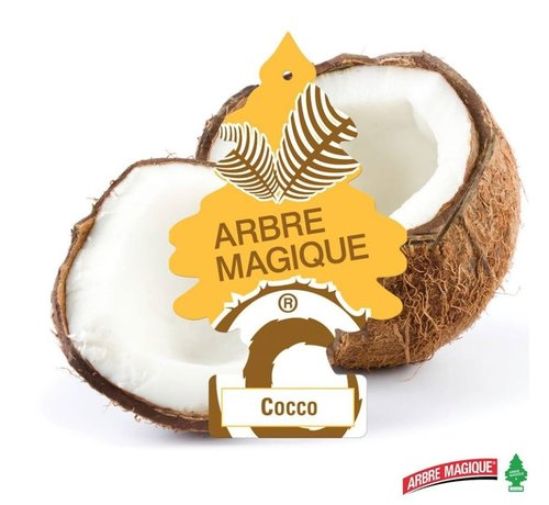 Arbre Magique Arbre Magique air freshener 2 pieces 'Coco' 2x