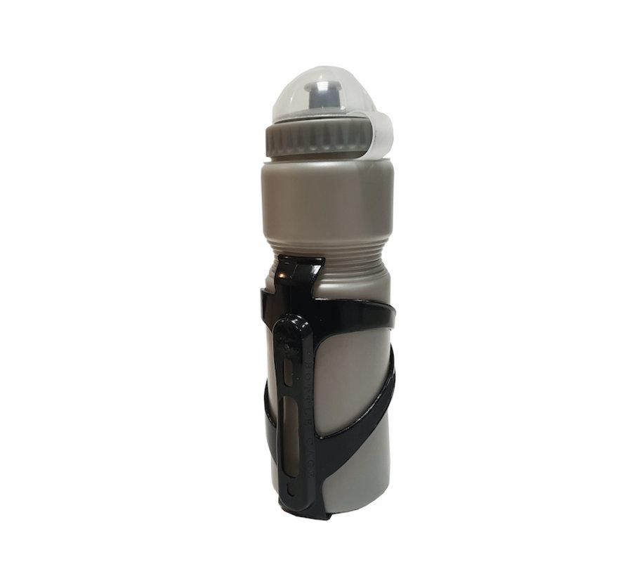 Bottle with holder for your bike - bike bottle Gray