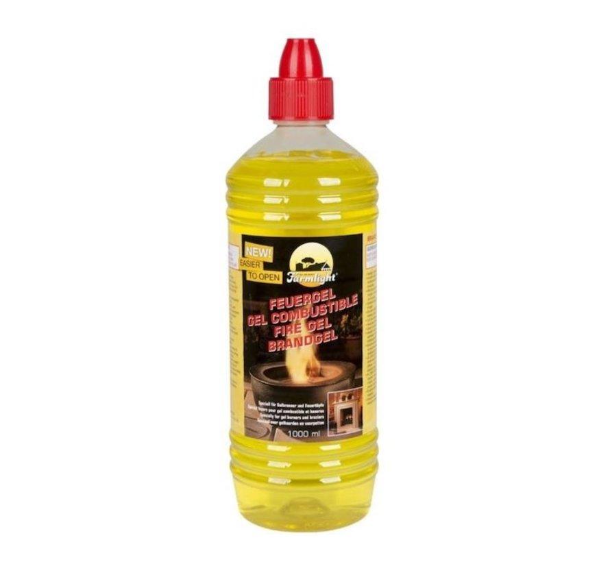 Brandgel Fles - Krachtige brandgel Firegel 5 liter aanmaakblokjes