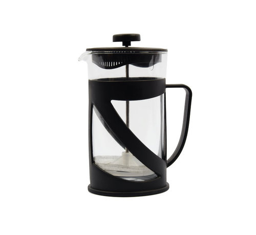 Discountershop Cafetière glass for coffee or tea 600ml - Coffee and tea maker 600ml