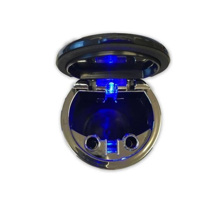 """Odorless Car Ashtray with LED """"FREE BATTERY"""""""