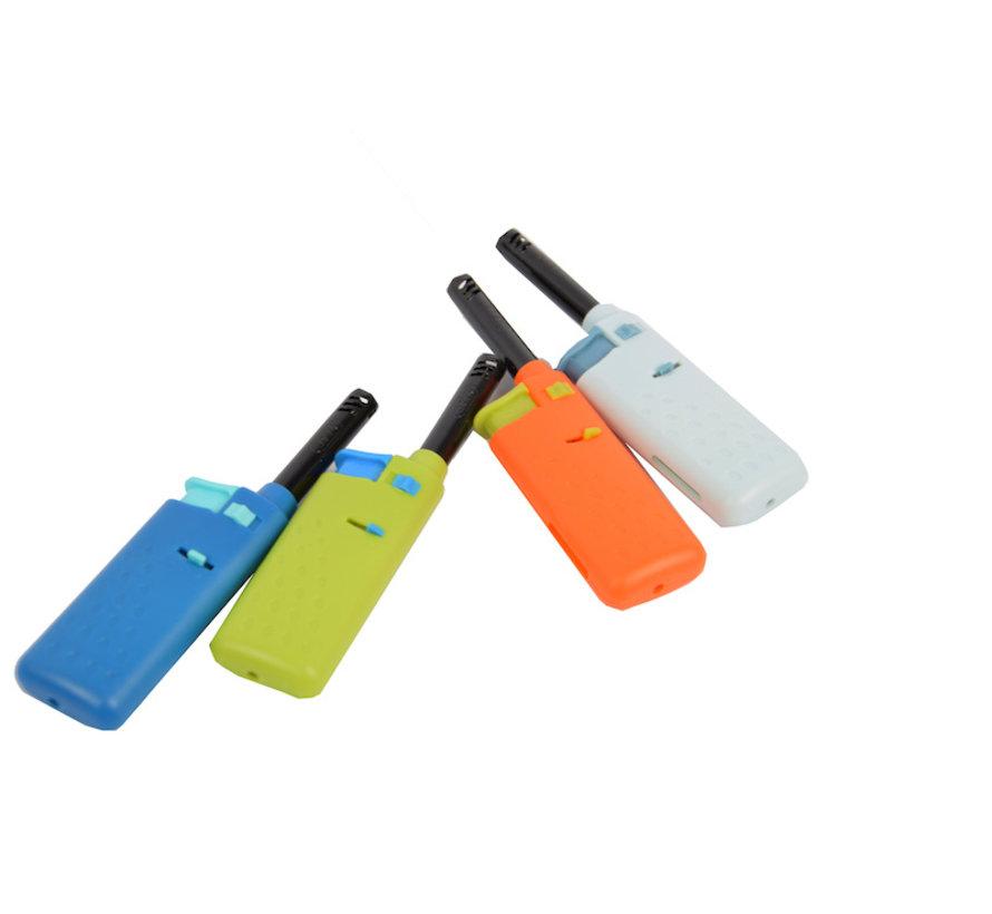 electric kitchen lighter - Mini lighter 4 pieces - Blue - Light blue - green - orange