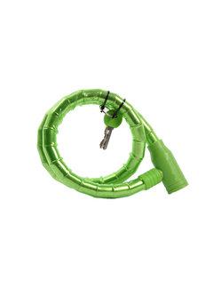 Discountershop bicycle lock Including 2 keys - Bicycle lock Green Long lock 1.8 CM x 80 CM