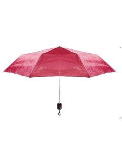 Discountershop Automatic umbrella - Sturdy umbrella with a diameter of 92 cm - Red