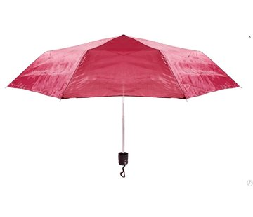 Discountershop Automatic umbrella - Sturdy umbrella with a diameter of 92 cm - Red
