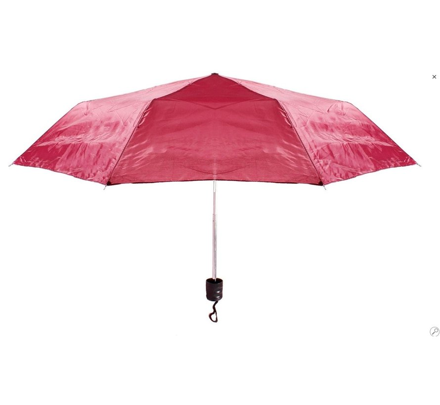 Automatic umbrella - Sturdy umbrella with a diameter of 92 cm - Red