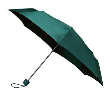 Discountershop Foldable - manual opening umbrella - Sturdy umbrella with a diameter of 100 cm - Green