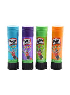Discountershop Pritt colored glue stick - glue stick - glue sticks - 4X