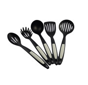 Discountershop Kitchenware set - Skimmer small - Skimmer large - tablespoon - spoons - spatula -