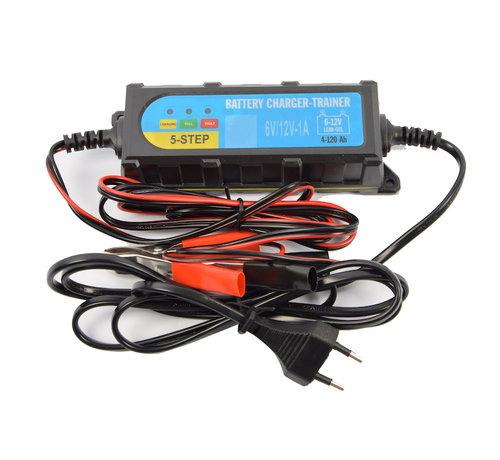 Discountershop Accu druppel oplader 6 - 12 volt - Accu oplader