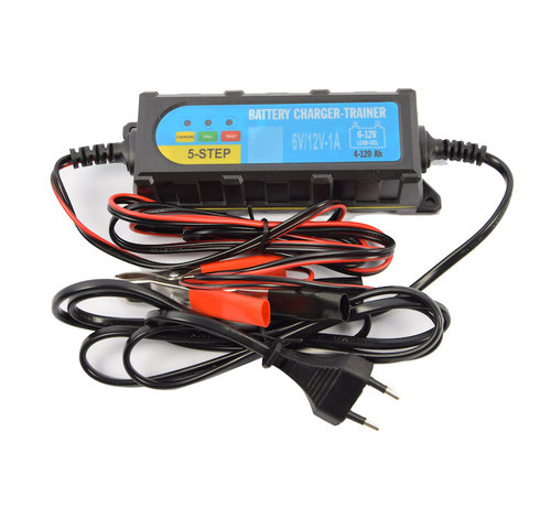 Discountershop  Battery drop charger 6 - 12 volt - Battery charger