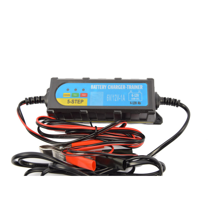 Battery drop charger 6 - 12 volt - Battery charger