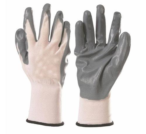 Discountershop Nylon nitril handschoenen- All-round Werkhandschoenen XL  10