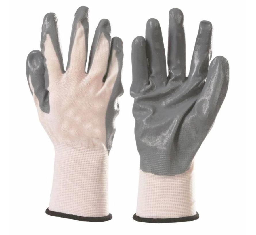 Nylon nitrile gloves - All-round Work gloves XL 10