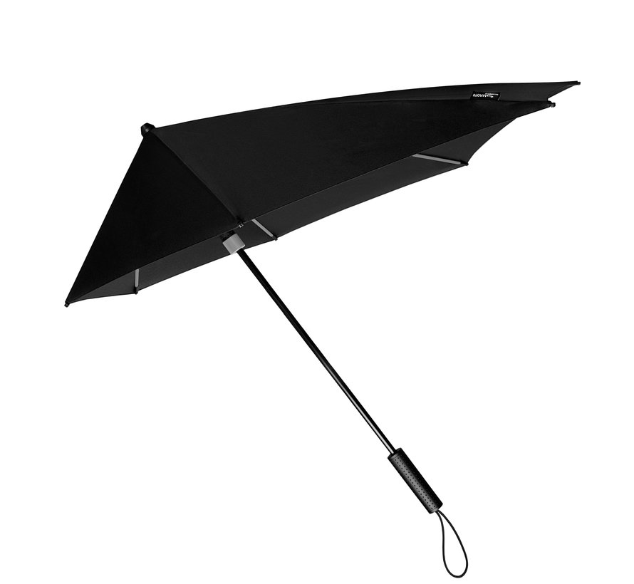 Storm umbrella - Antistorm umbrella - Storm umbrella - STORMaxi SPECIAL EDITION Black + colored frame