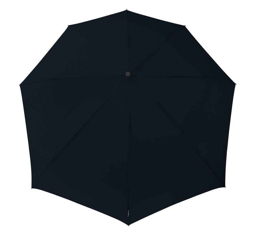 Stormparaplu - Antistorm paraplu  -Stormparaplu - STORMini Aerodynamische opvouwbare stormparaplu Zwart - handopening