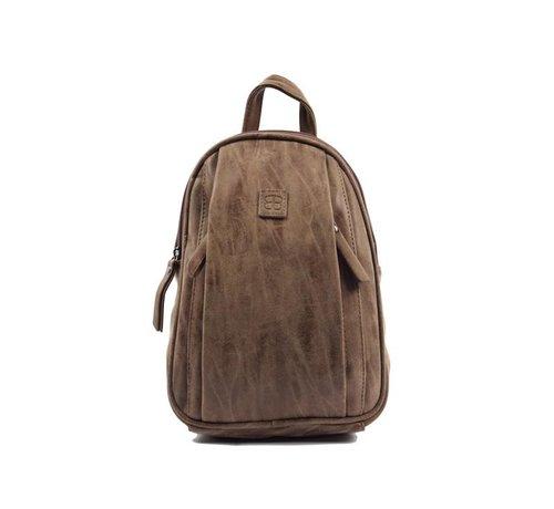 Bicky Bernard Bicky Bernard Backpack 7 Liter - Shoulder bag - Crossbody bag - bags - bags ladies - buy bags - bag handle - bags Brown - Dark brown - Ladies bag - handbag - handbags - handbag ladies - handbags ladies - handbag Brown - Dark brown