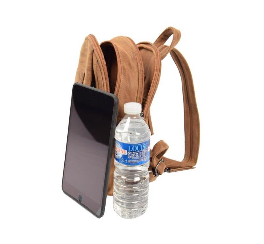 Bicky Bernard Backpack 7 Liter - Shoulder bag - Crossbody bag - bags - bags ladies - buy bags - bag handle - bags Camel - Cognac - Ladies bag - handbag - handbags - ladies handbag - ladies handbags - handbag Camel - Cognac