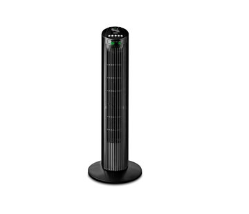 Black+Decker Discountershop - Tower fan 45 watt with Remote control and timer