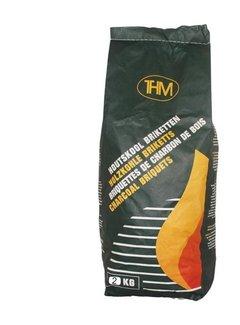 Discountershop Charcoal briquettes 2 kg