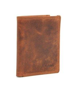 Discountershop Card case met ID - creditcard houder met geld - pasjeshouder met briefgeld - 6 pasjes