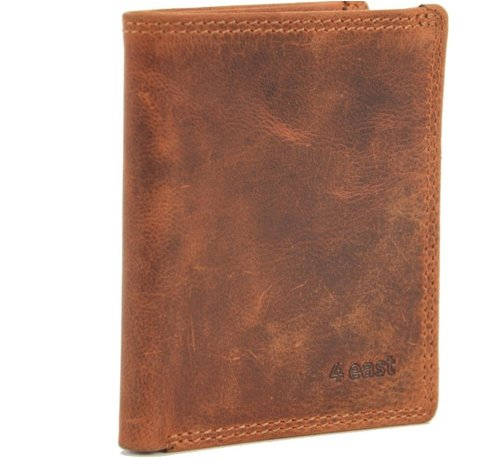 4East Card case met ID - creditcard houder met geld - pasjeshouder met briefgeld - 6 pasjes