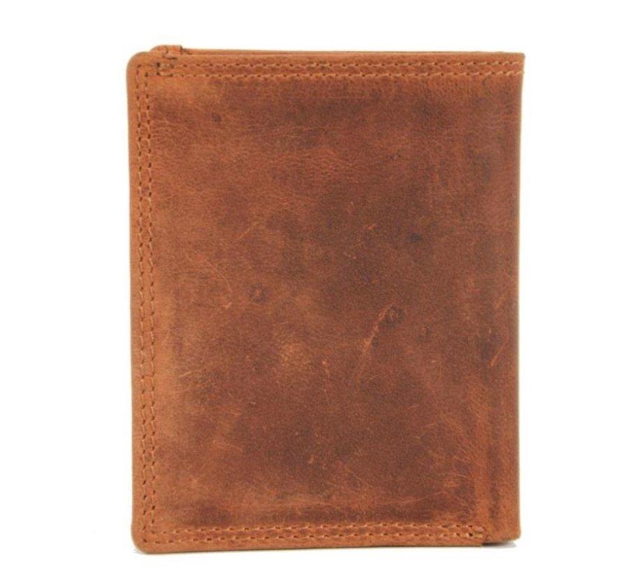 Card case met ID - creditcard houder met geld - pasjeshouder met briefgeld - 6 pasjes