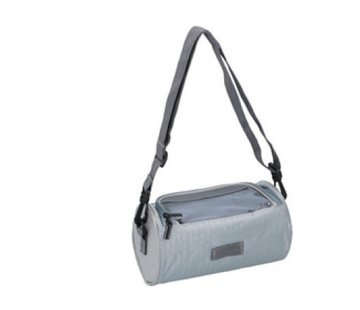 Discountershop Bicycle handlebar bag 20x12x12cm - bicycle bag - bicycle handlebar bag - bicycle bag for your smartphone Gray
