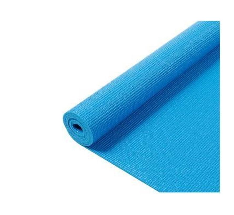 Yogamatten - Mat yoga - Yoga - Yoga Mat - Fitnessmat - Yogamat - 170 x 60 x 0.3 cm - Blauw