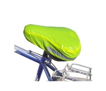 Dunlop Zadel - Gele zadel - Geel - Fiets - Zadelhoesje - Zadelhoes - Reflector zadel