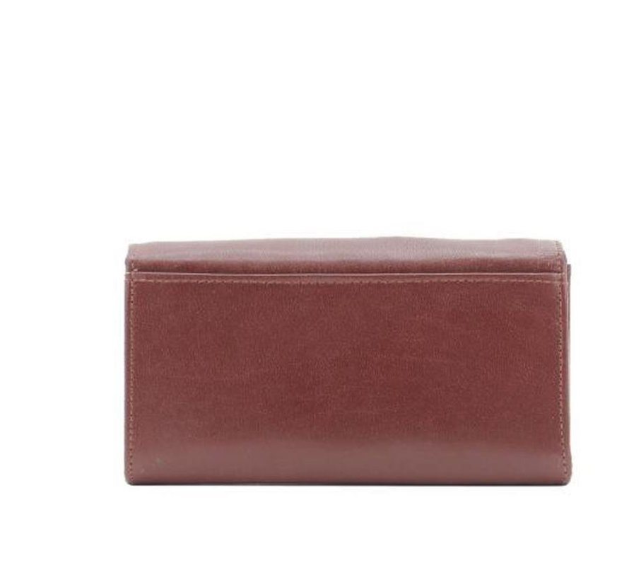 DD Exclusive - Ladies Cut Wallet - Household - Wrap - Ladies Wallet - Brown / Black