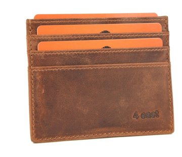 4East Card case - credit card holder with money - card holder with bills - card holder - credit card - 6 card holder.
