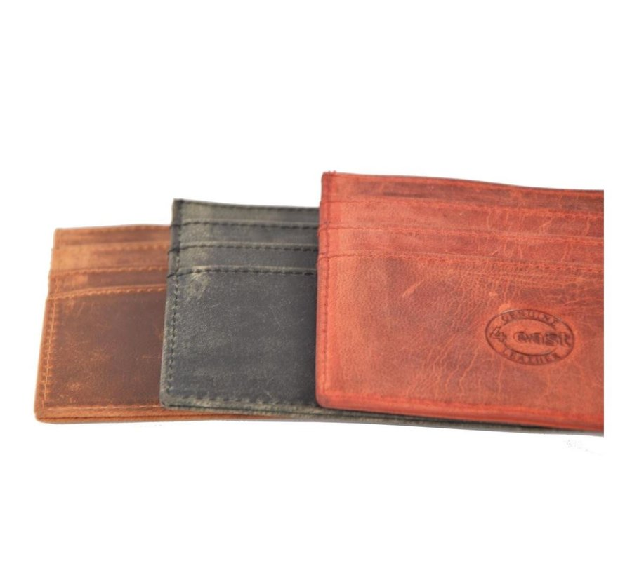 Card case - credit card holder with money - card holder with bills - card holder - credit card - 6 card holder.