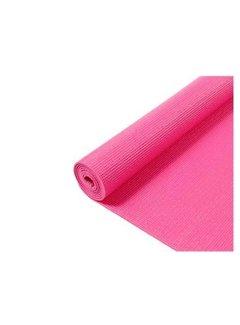 Discountershop Yoga Mat - Fitnessmat - Gymmat - Sportmat- Yogamat - 170 x 60 x 0.3 cm - Roze