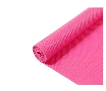 Discountershop Yoga Mat - Fitness Mat - Gymmat - Sports Mat - Yoga Mat - 170 x 60 x 0.3 cm - Pink