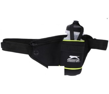 Discountershop Slazenger running belt sports belt with 500 ml bottle of water