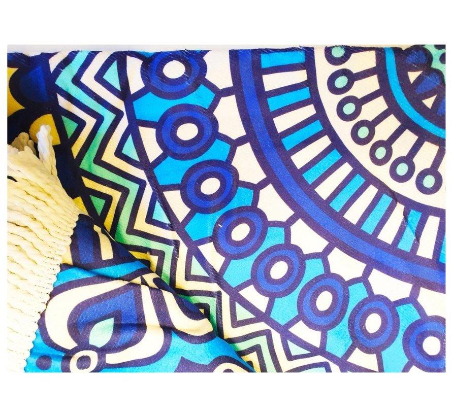 Beach towel around 150 cm - Mandala beach towel 150cm - Beach towel - Various