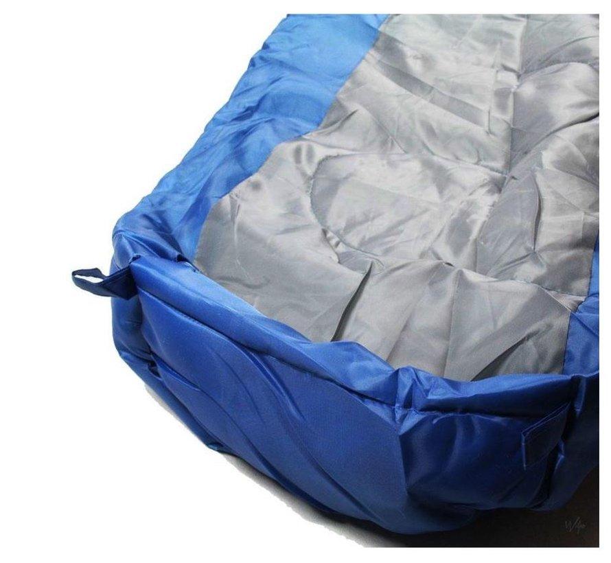 sleeping place 80 cm 210 cm 50 cm storage bag blue mummy sleeping bags