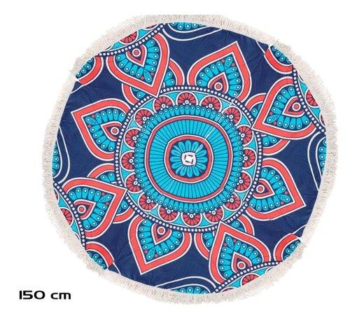 Discountershop Standlaken rond 150 cm - Mandala strandlaken 150cm - Strandlaken - Verschillende kleuren