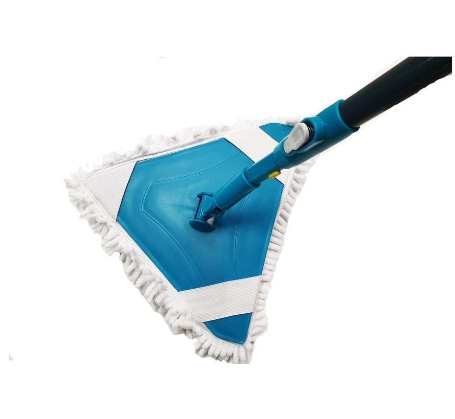 Dweil uitschuifbare microvezel - vloerwisserset - Dweil 31x29x108145cm