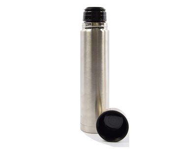 Discountershop Insulated bottle - 1 l - stainless steel - double-walled insulated bottle 1 liter