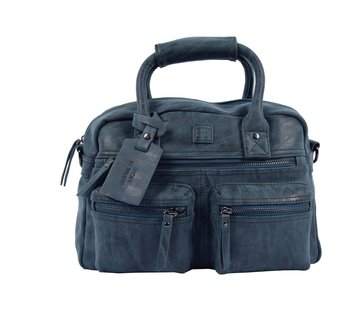 Discountershop Bicky Bernard Handbag wrap Hand & Shoulder bag Western Bag Blue - Dark Blue