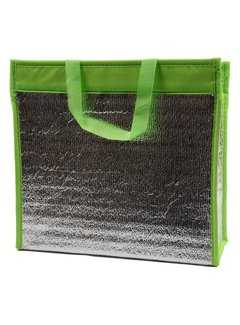 Discountershop Cool bag with handle \ Green