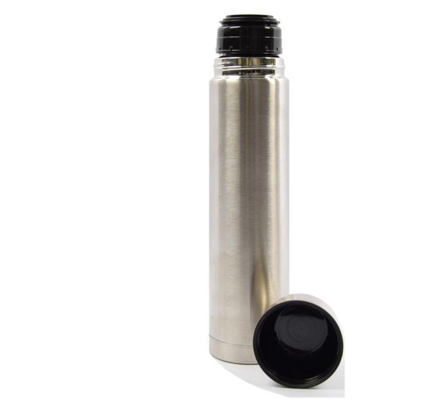 Insulated bottle - Insulated bottle - 1 l - Silver