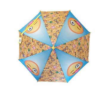 Discountershop Children's umbrella Emoji Smiley - children's umbrella - 65 cm