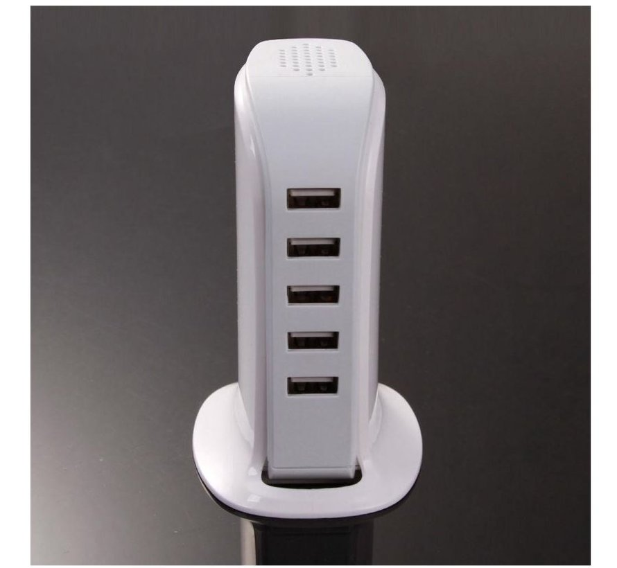 USB HUB 5 Port 30W 6.0A strong - Samsung HTC Apple iPhone iPad Macbook Desk - Office charger